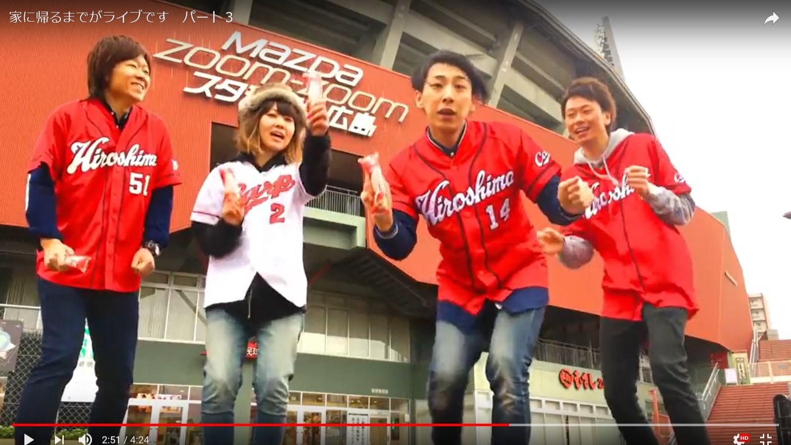 広島で活躍するバンド「RAIL(E)RUSH」さんのMVに!!