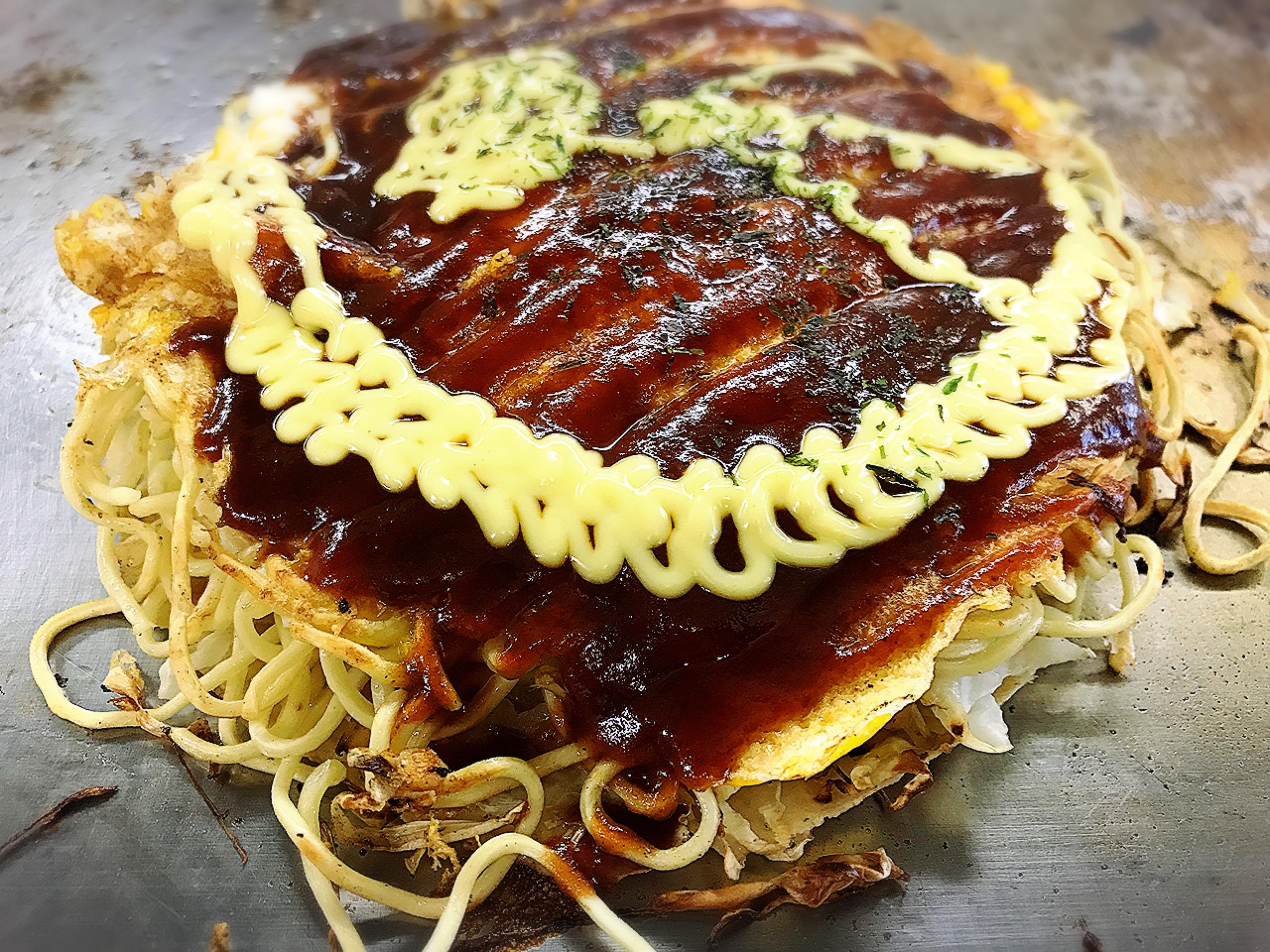 お好み焼きは おたふくのお好みソースと キューピーのマヨネーズで食べたい!