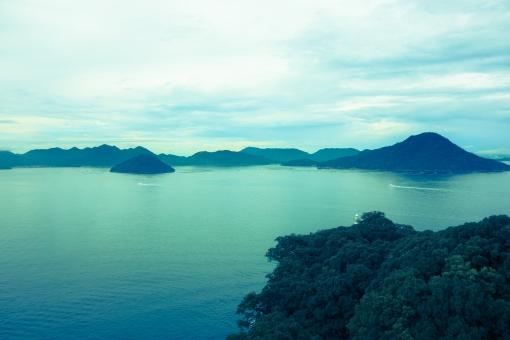 宮島弥山からの景色