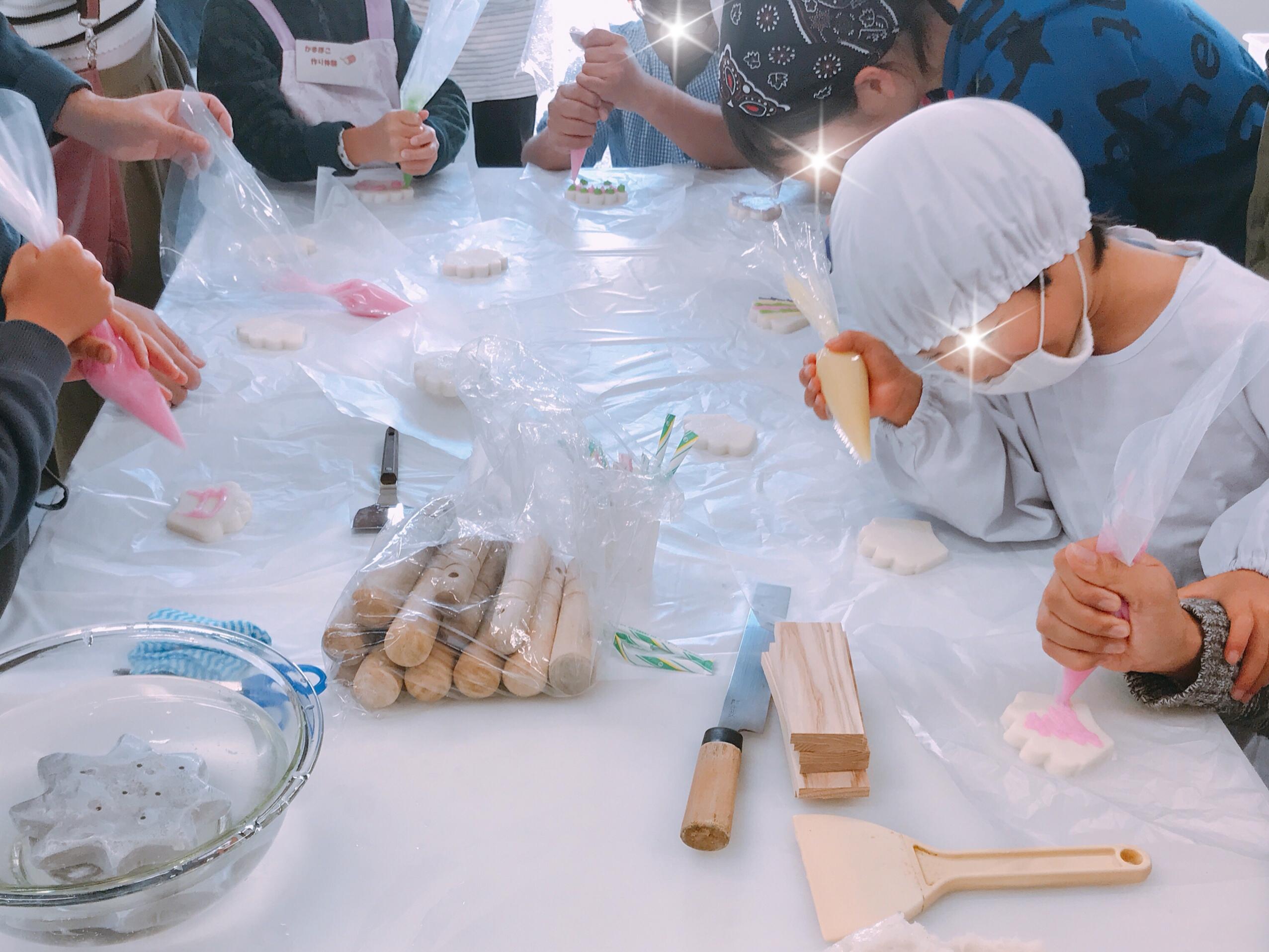 かまぼこづくり体験@広島市水産振興センター