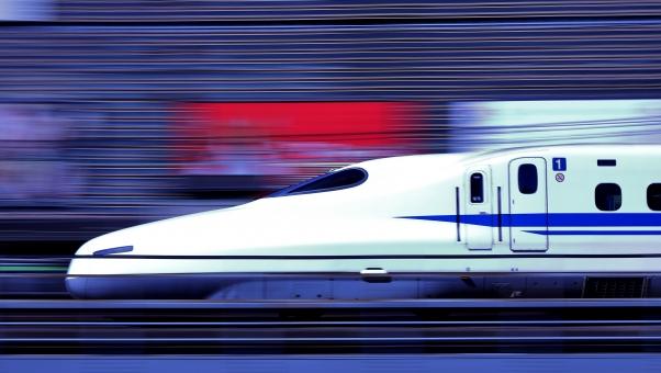 広島市内から東京までは新幹線だね!