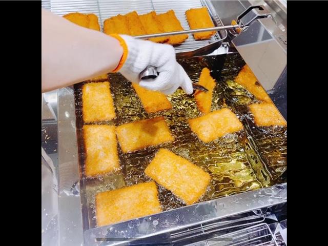 広島市の学校給食に郷土料理としてがんすが!