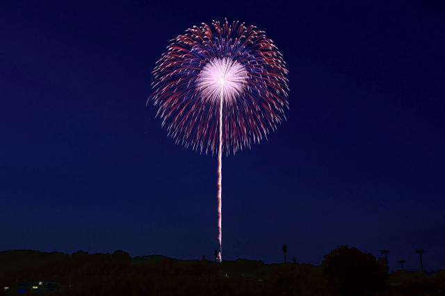 今夜は広島で花火が上がったね